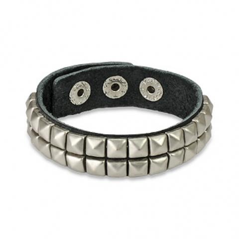 Кожаный браслет SPIKES SL0003-K