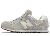 Кроссовки Женские New Balance 996 Grey White Gold