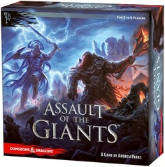 D&D – Assault of the Giants Board Game