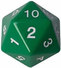 Кубик - счётчик жизней 55 мм зелёный