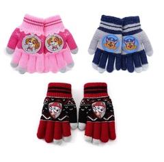 Щенки перчатки детские трикотажные для сенсора
