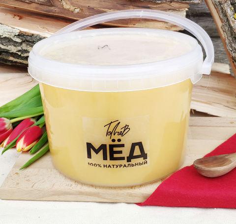 Мёд конца лета Казнаковка - Башкирия 3 литра (4,3кг)