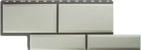 Фасадная панель Альта Профиль Камень флорентийский белый 1250х450 мм