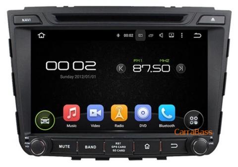 Магнитола Hyundai  ix 25 Android 8.1  2/16GB DSP модель CB8106KD