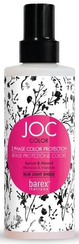 Спрей-кондиционер Стойкость цвета двухфазный Barex JOC Color,200 мл.