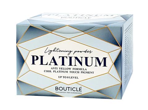 Обесцвечивающий порошок с комбинацией нейтрализующих пигментов - Bouticle Cool Platinum Touch 500 г.