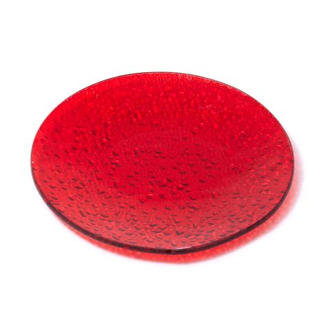 Красная тарелочка