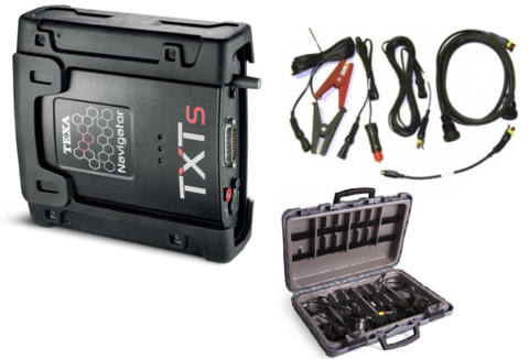 Комплект оборудования ТЕХА для диагностики грузовых автомобилей, автобусов, прицепов «БАЗОВЫЙ»