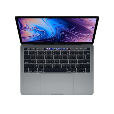 Apple MacBook Pro 13 Retina Touch Bar MV962 Space Gray (2,4 GHz, 8GB, 256Gb, Intel Iris Plus Graphics 655)