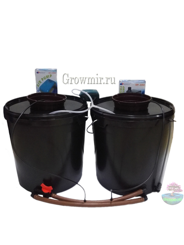 Аквапот на 2 растения (20л Х 2шт)