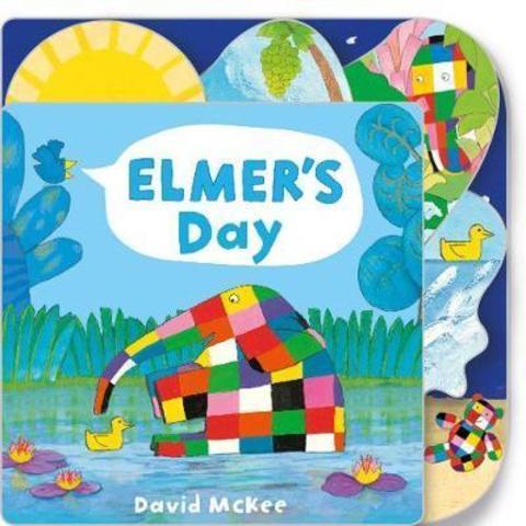 Elmer's Day : Tabbed Board Book