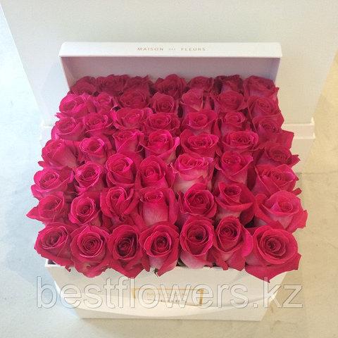 Коробка Maison Des Fleurs с розами 25