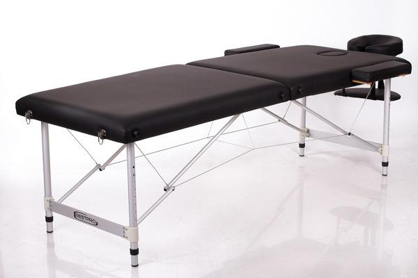 Массажный стол RESTPRO ALU 2 (L) Black (EU) фото