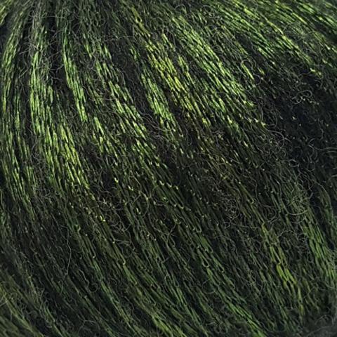 Пряжа Gazzal Rock n Roll 13910 зеленый мох