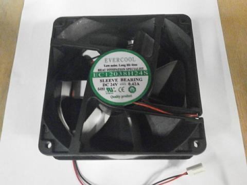 Вентилятор QUATTRO ELEMENTI 24В 120*120*38мм (30600013), шт