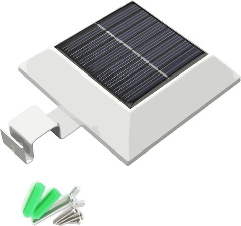 Уличный беспроводной светильник Gutter Sensor Light
