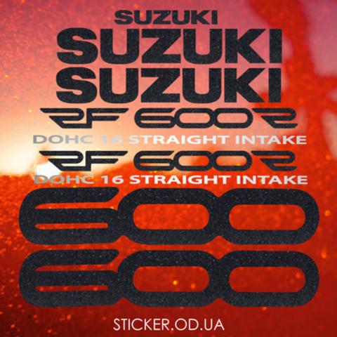 Набор наклеек на мотоцикл Suzuki RF 600R, 1994