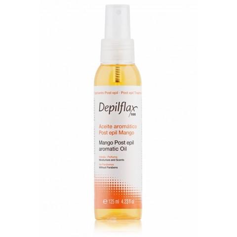 Depilflax, Масло Манговое Mango Oil Удаляет остатки воска, содержит витамин Е, 125 мл