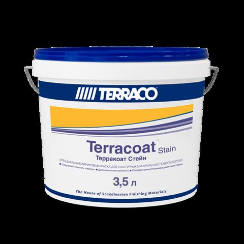 Terraco Terracoat Stain/Террако Терракоат Стэйн акриловое цветное защитное покрытие для текстурных штукатурок