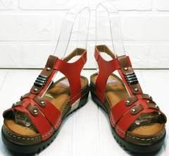Стильные женские сандалии из натуральной кожи Rifellini Rovigo 375-1161 Rad.