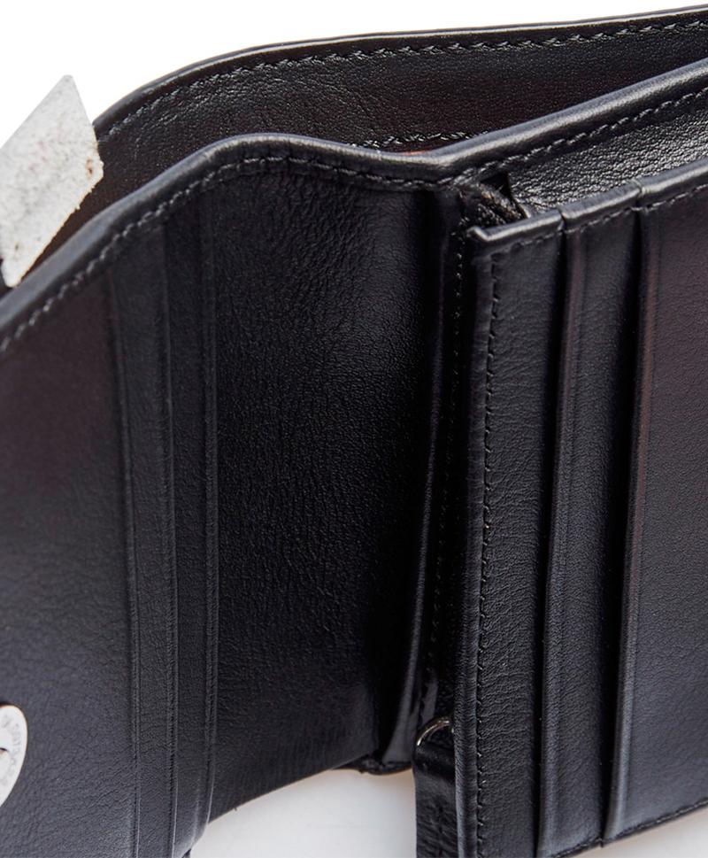 Мини портмоне черного цвета