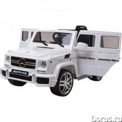Электромобиль BARTY Mercedes-Maybach G650 Landaulet белый