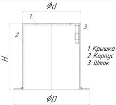 Ковер стальной газовый схема