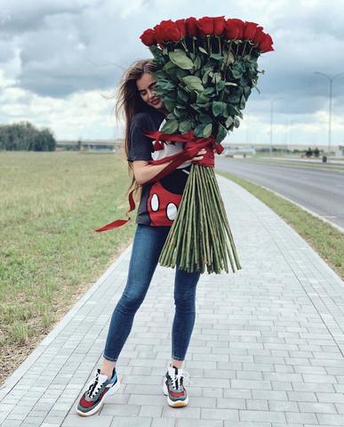51 роза 130 см #20404