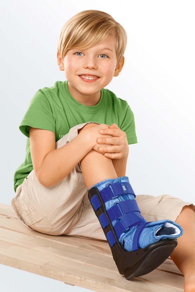 Голеностоп и икроножная мышца Ортез голеностопный жесткий детский medi Walker boot D kidz shop_new_foto_1414.jpg