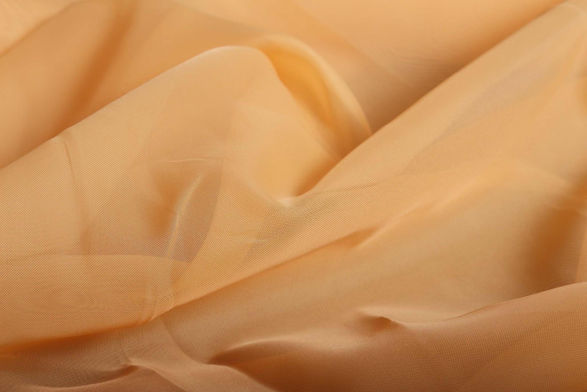 Длинные шторы. Тюль вуаль Nouvelle (Peach)