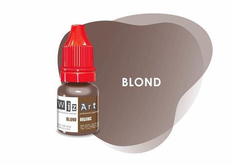 Blond (блондин) • Wizart Organic • пигмент для бровей