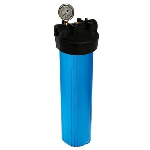 Корпус фильтра В908-ВК1-PR-G-+ манометр (ВВ20. вход 1