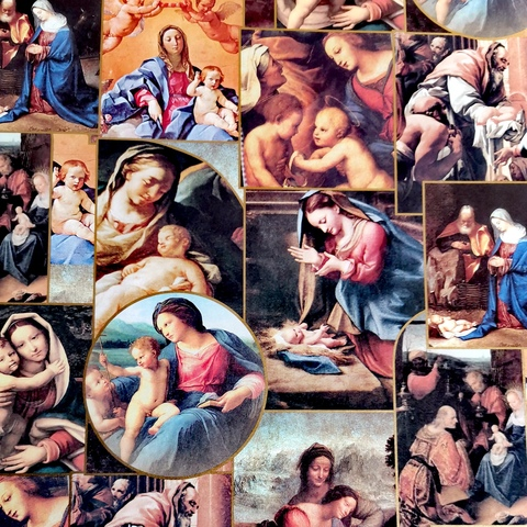 Бумага декоративная подарочная Библейские сюжеты (Италия)