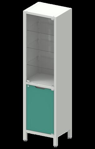 Шкаф лабораторный  ШКа-1 АйЛаб Organizer (вариант 3) - фото