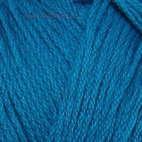 Пряжа Хлопок натуральный (Пехорка) Морская волна 14