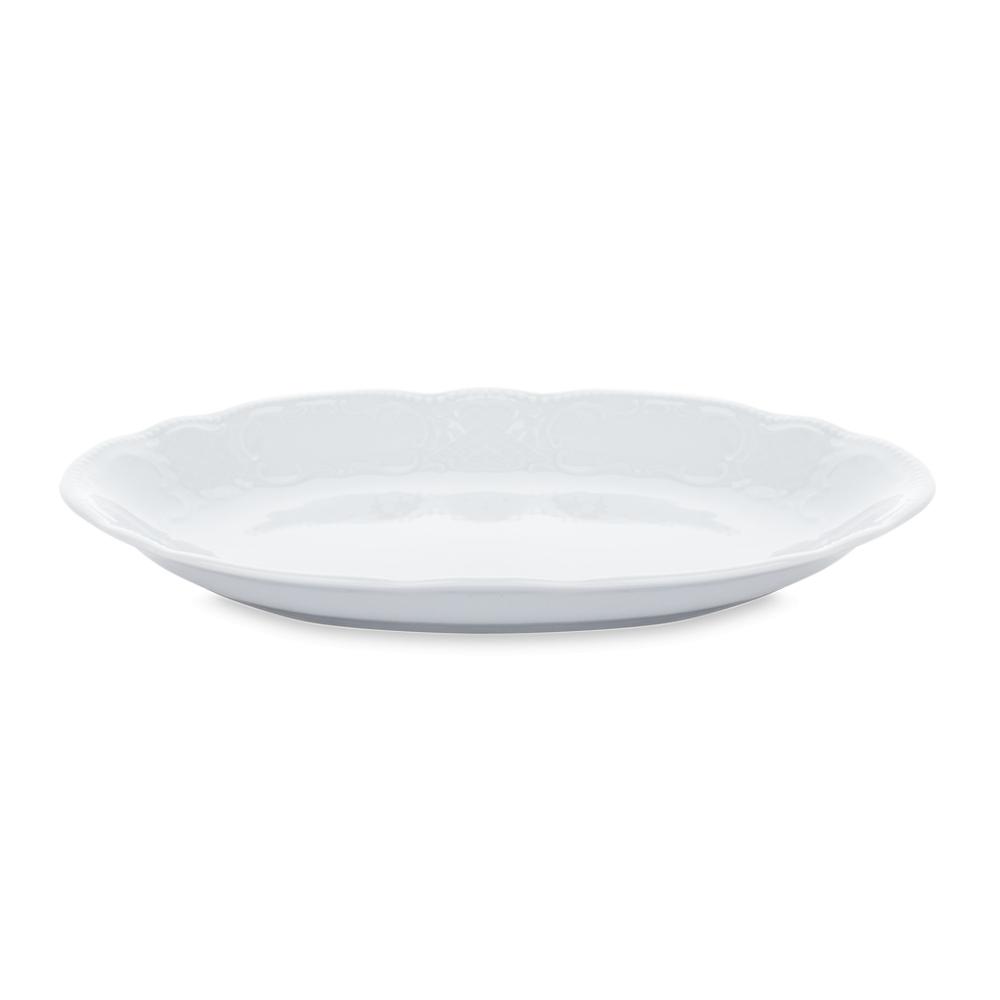 Блюдо овальное 24 см, Salzburg Uni, серия Salzburg Uni, 001.604911, SELTMANN, Германия салатник 15 см 420 мл серия salzburg uni 001 602669 seltmann германия