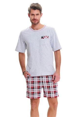 Мужская пижама PMB.9471 Grey Melange Doctor Nap