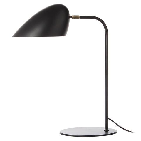 Лампа настольная Hitchcock, черная матовая