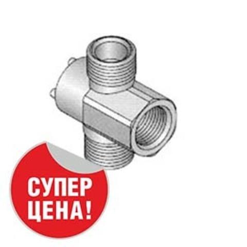 Распределитель крановый 180° 1/2