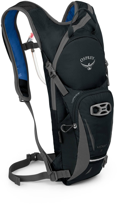 Велорюкзаки Велорюкзак с питьевой системой Osprey Viper 3 Viper_3_Side_Black_web.jpg