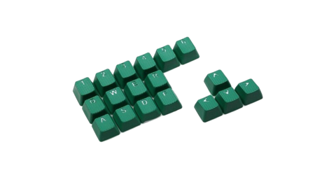 Клавиши Tai-Hao «Rubber Green»