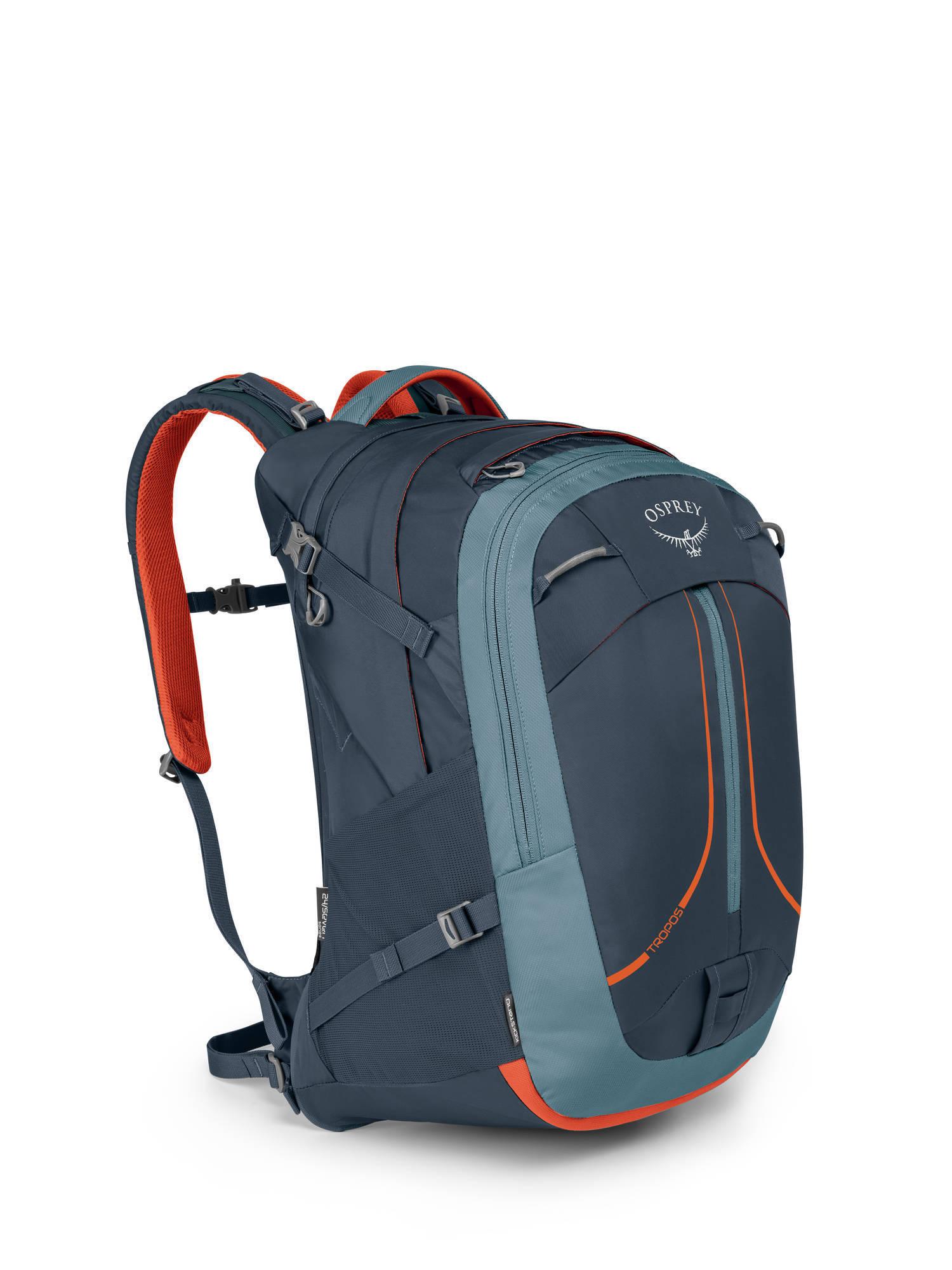 Городские рюкзаки Рюкзак Osprey Tropos 32 Amour Grey Tropos_F17_Side_Armor_Grey_web.jpg