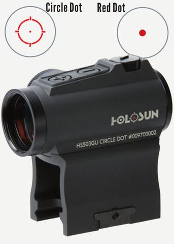 Holosun Micro HS503GU Red/Circle dot