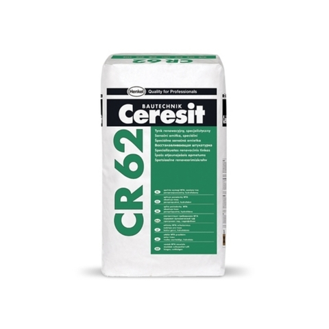 Ceresit CR 62 WTA/Церезит ЦР 62 ВТА гидрофобная санирующая штукатурка