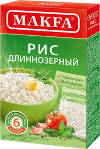 Рис Длиннозерный (Макфа) 0,400 гр.