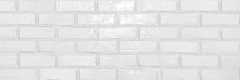 Плитка настенная Brick White Gloss  750х253