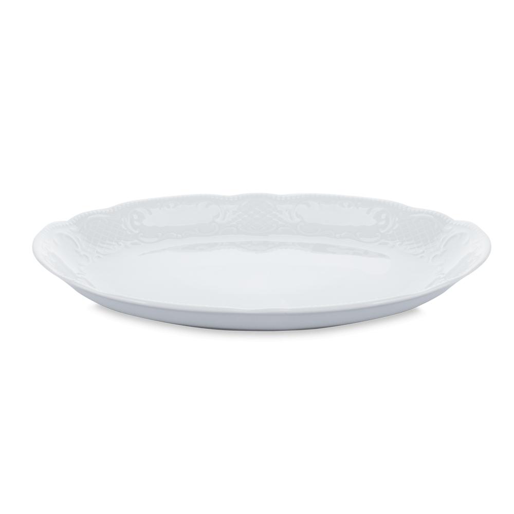 Блюдо овальное 28 см, Salzburg Uni, серия Salzburg Uni, 001.605718, SELTMANN, Германия салатник 15 см 420 мл серия salzburg uni 001 602669 seltmann германия