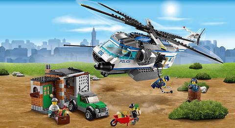 LEGO City: Вертолётный патруль 60046 — Helicopter Surveillance — Лего Сити Город