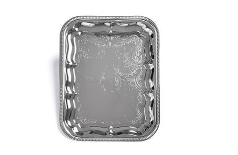 9418 FISSMAN Поднос 41x31 см, металл хромированный,  купить
