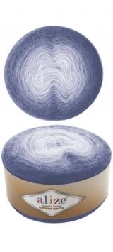 Пряжа Alize Angora Gold Ombre Batik 7303 синий